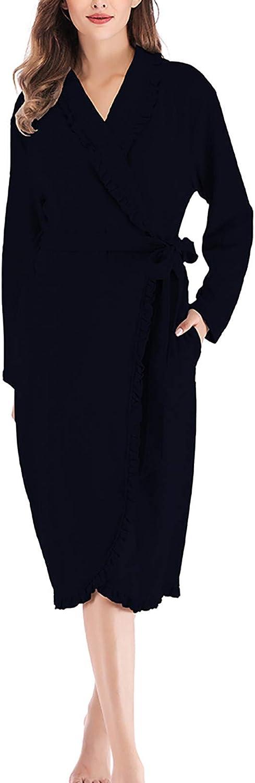 XUETON Womens Kimono Robes Lightweight Soft Sleepwear Ro Cotton Sale special price Trust
