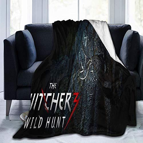 The Witcher Wild Hunt - Manta cálida muy suave y gruesa