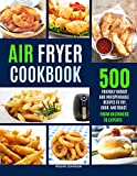 AIR FRYER COOKBOOK: 500 FRIENDLY BUDGET AND INDISPENSABLE FRYING RECIPES TO FRY, COOK, AND ROAST. FROM BEGINNERS TO EXPERTS