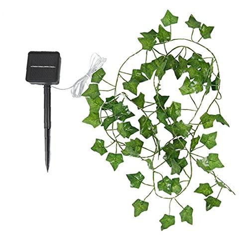 LED fata luci, vite luminosa solare artificiale artificiale ghirlanda ghirlanda stringa fata luce 5m 50 LED lampada da giardino