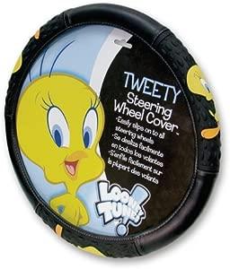 Tweety Bird Attitude Steering Wheel Cover
