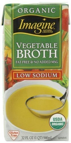 Imagine Organic Vegetable Broth Sodium Selling and selling 32 Limited time cheap sale Low oz