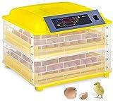SYue Incubadora de Huevos con Giro automático, Temperatura de incubadora de 96 Huevos Control de Humedad para Pato Aves de gallina Ganso Pollo fácil de observar