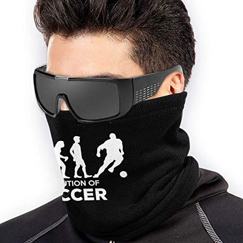 ShiHaiYunBai Braga Cuello Moto Calentador de Cuello Deporte Calentador Pasamontañas Polar Multifuncional Máscara Evolution Of Soccer Men Women Face Masks Headwear Neck Warmer Windproof Mask
