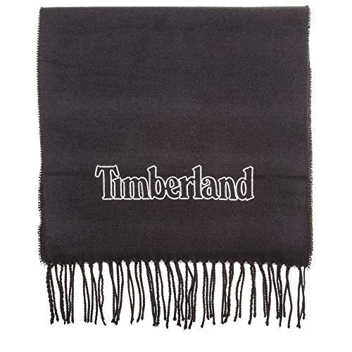 Timberland Chain Stitch Emroidered Herren Schal Schwarz