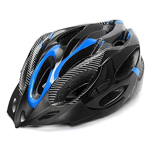 Huai1988 Fahrradradhelm für Erwachsene, Männer Fahrradhelm für Damen Matte Fahrradhelm Verstellbarer Skateboardschutzhelm Sicherheit Schützen Sie den Mountainbike-Helm für den Außenbereich Unisex