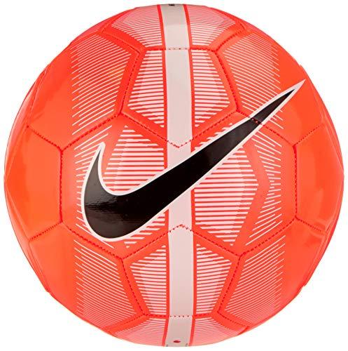 Nike NK Merc Fade - Balón de fútbol (Talla 5), Color Blanco y Negro
