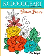 Flower Power: Coloring Book