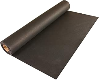 Greatmats 4x10 Ft Rolled Rubber (Black)