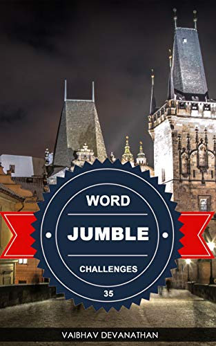 Word Jumble Challenges - 35 (English Edition)