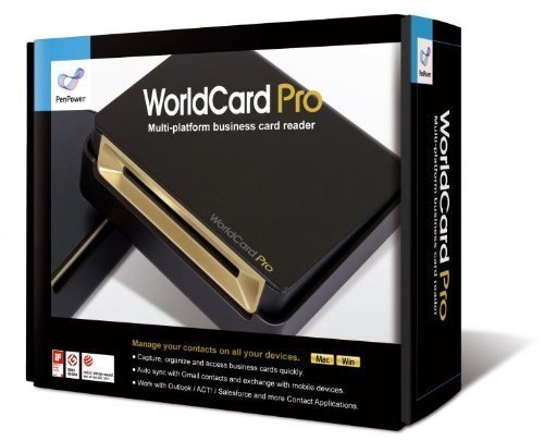 Best Price! WorldCard Pro Business Card Scanner (Newest Version), Outlook Support, Multiple language...