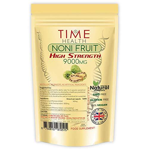 Uztura bagātinātājs, kura pamatā ir Noni augļu ekstrakts - 120 kapsulas - lai uzlabotu jūsu imūnsistēmu un labu gremošanu - Ir pretiekaisuma īpašības - Lielbritānijas produkts