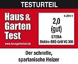 Steba VG 300 elektrischer Barbecue-Hauben-Grill - 10