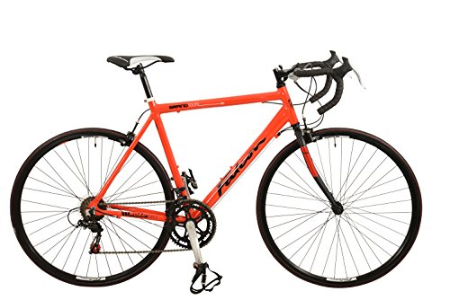 Falcon Men Grand Tour - Bicicleta para hombre, color rojo, talla 12 Plus