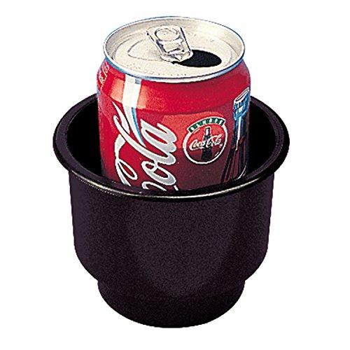 Sea-Dog 588060 Flush Mount Combo Drink Holder with Drain Holes - Black