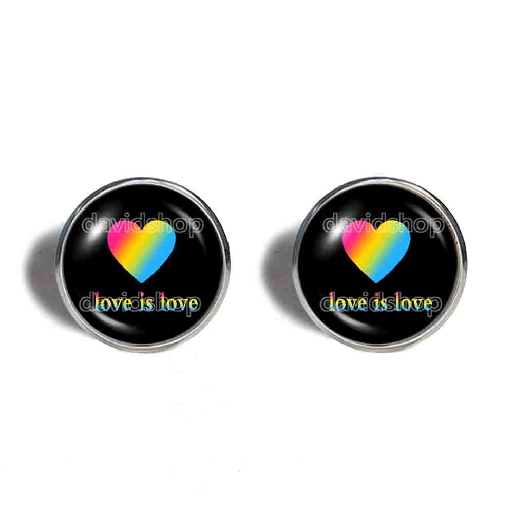 Love Dallas Mall Is Columbus Mall Pan Pride Earrings Ear Fashion F Cuff Heart Jewelry