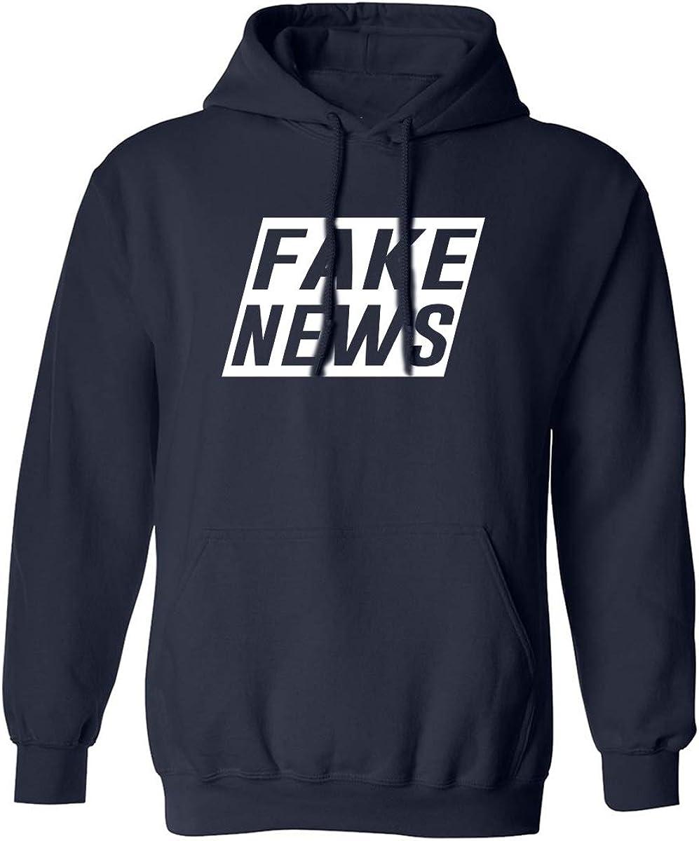 FAKE NEWS Adult Hooded Sweatshirt