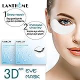 Luccase 1 Beutel Augenmaske Kollagen Hydrogel Augenmaske Patches Collagen Anti-Falten Beseitigt Augenringe und Feine Linien Kollagen-Maske, Weiß