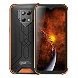 Blackview BV9800 Pro Unlocked Cell Phone 6GB+128GB Thermal Imaging Face & Fingerprint Identification 6.3 inch Android 9.0 Pie Helio P70 Octa Core up to 2.1GHz GSM & WCDMA & FDD-LTE (Orange)