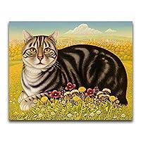 ジグソーパズルギフト300個 | 動物猫 | 大人の十代の若者たちと子供のためのパズルゲームギフト