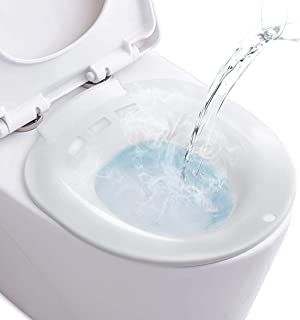 Sitz Bath for Toilet Portable Sitz Bath Basin for Hemorrhoids Treatment Postpartum Care Pregnant Women Perineal Episiotomy...