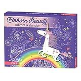 ROTH Einhorn-Beauty-Adventskalender 2020 gefüllt mit Beauty- und Bade-Produkten, Badeartikel-Kalender für die Vorweihnachtszeit