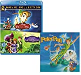 peter pan disney blu ray - Peter Pan (I and II) - Walt Disney Movie and Soundtrack Bundling - Blu-ray and CD