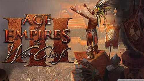 Age of Empires Los Jefes De Guerra Puzzles para Adultos De 1000 Piezas Juguete Educativo Intelectual De Descompresión Divertido Juego Familiar para Niños Adultos, 29.5 X 20In