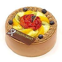 CAKE EXPRESS フルーツ生チョコクリームバースデーケーキ 5号