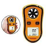 Efanty Anemometro Portatile Digitale, Misuratori del Vento LCD con Retroilluminazione Palm...