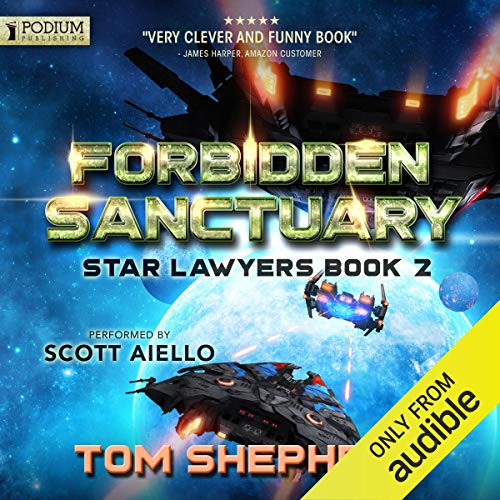 Tom Shepherd Forbidden Sanctuary - Star Lawyers, Book 2