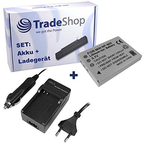 Angebot IM Set: Hochleistungs Kamera Li-Ion Akku + Akku Ladegerät mit Kfz Adapter für Premier DM6331 DM-6331 TCM Digitalkamera 4,2 229526 237525 Agfa 4Ti 4-Ti Prosio SlimNeo Xi Aldi Slimline X5 X-5
