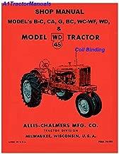 Allis Chalmers WC WF RC service Manual
