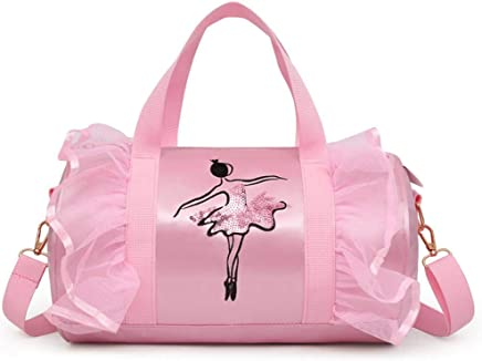 19ebaaf041 Fancylande Sacs Danse Fille Ballet, Sac de Danse pour Enfants Sac de Danse  Filles Sac