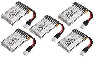 UUmart 5PCS 3.7v 240mah Lipo Battery for Syma x11 x11C y Hubsan X4 107L RC Quadcopter Spare Parts