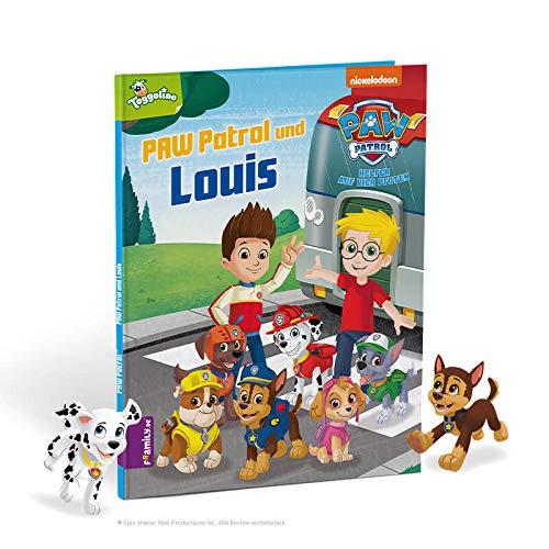 Framily personalisiertes Kinderbuch – PAW Patrol und Du – Bilderbuch mit vielen individuellen Gestaltungsmöglichkeiten – das ideale Geschenk für Kinder von 3 bis 8 Jahren