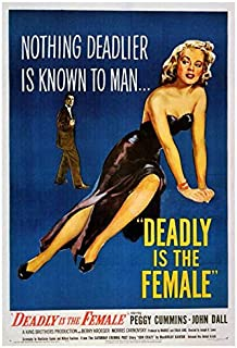 Deadly is the Female POSTER Movie (27 x 40 Inches - 69cm x 102cm) (1949)