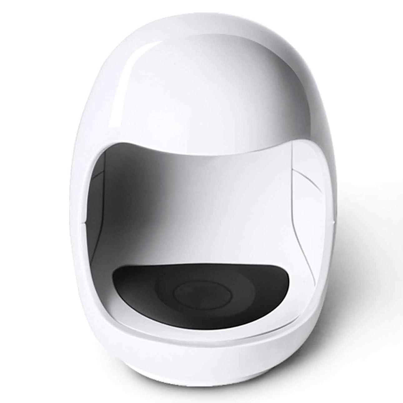 コードレス社会主義拳ミニジェルUV LEDネイルランプネイルドライヤージェルネイルポリッシュLED UVライトプロフェッショナルネイルアートツールアクセサリーホワイト
