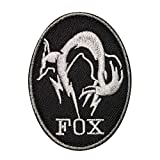 Morton Home Fox Iron on Patch from Metal Gear Solid The...