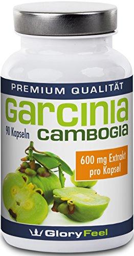 Gloryfeel | Garcinia cambogia | Hooggedosseerd | 90 capsules | Veganistisch | Glutenvrij