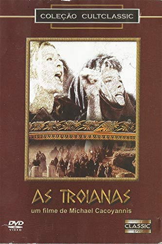 Dvd - As Troianas - Michael Cacoyannis