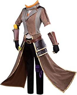 MYYH Anime Yang Xiao Long Cosplay Yellow Trailer Outfit Costume Halloween