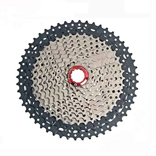 Lijincheng Ruedas Libres Bicicleta Freewheel Castete 11 Velocidad 11-52T Relacción PESPAÑA Piezas DE MONTAÑA Black MTB MONTAÑA para Shimano SRAM (Color : 11S 11 to 52T)