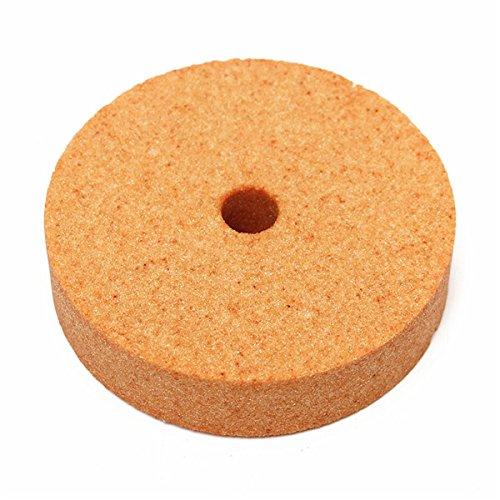 /125x16x12.7mm meule abrasive de rechange Vert pour le meulage de pr/écision et meulage rapide 60# 1x Meule pour touret /à meuler