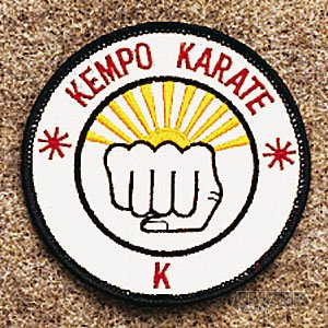Kempo Karate Patch 3 1/2