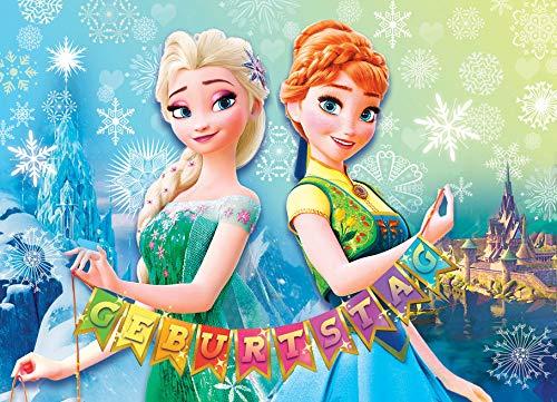 TV-24 Frozen Die Eiskönigin Einladungskarten 12er Set inkl. 12 Umschläge E7