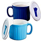 This 20 ounce meal mug makes it great for Soup, coffee, tea, chili, oatmeal, hot cocoa and more Stoneware is safe to use in microwave, oven, refrigerator, freezer & dishwasher Resists chipping and cracking Non-porous surface does not absorb food odor...