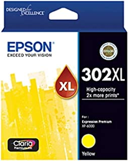 Epson (302XL) C13T01Y492 Genuine High Yield Yellow Ink Cartridge