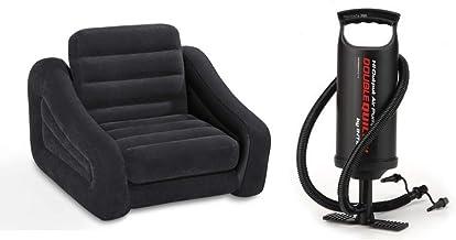 Intex Pull-Out Chair Bean-less Sofa With Manual Air Pump