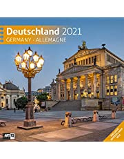 Deutschland Kalender 2021 - 30x30